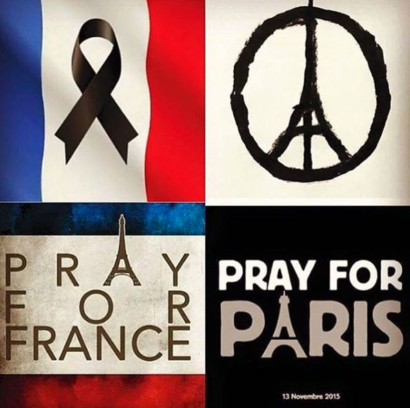 Stars Pray for Paris in Light of Recent Terrorist Attacks