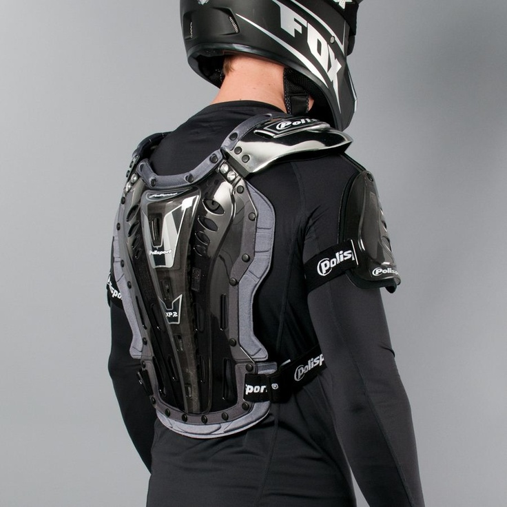Polisport  - Chest Protector XP2 (back)