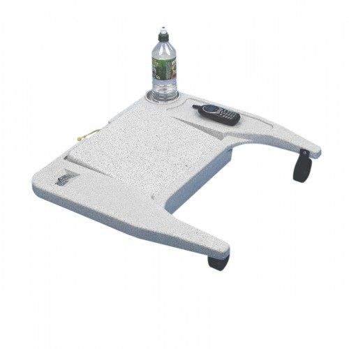 This laptop desk is a useful accessory for wheelchair users with