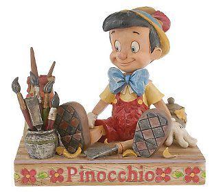 jim shore pinocchio | Jim Shore Disney Traditions Pinocchio Figurine — QVC.com