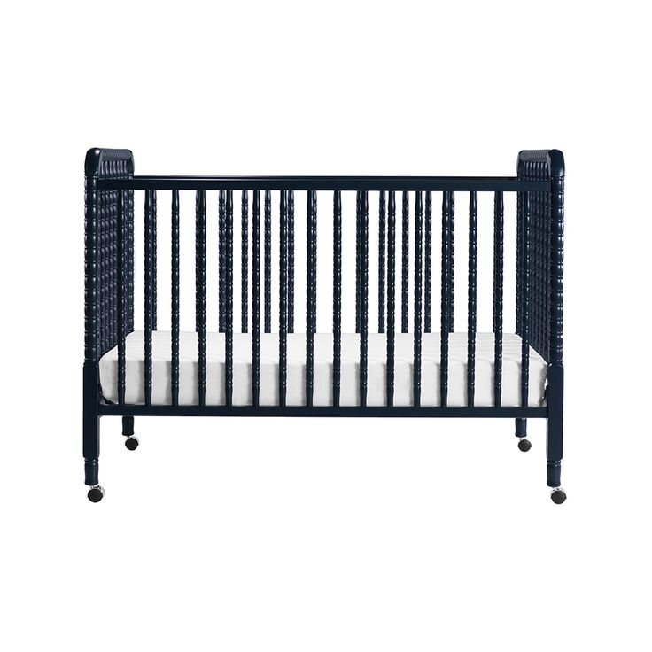 New Color Gt Gt Navy Jenny Lind Crib With Toddler Rail