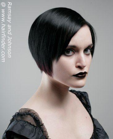 Phenomenal 1000 Ideas About Gothic Hairstyles On Pinterest Monofilament Short Hairstyles Gunalazisus