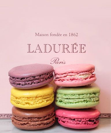 Ladurée in Paris.