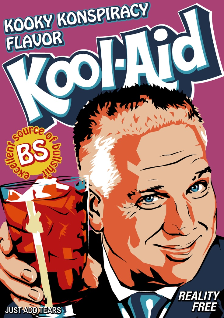 "Fox ""News"" and the Glen Beck Show - Kool-Aid."