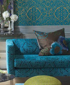 Draperiet på Høvik i Bærum er forhandler for Designers Guild tapeter og stoffer. Designers Guild - Fabrics & Wallpaper Collections, Furniture, Bed and Bath, Paint, and Luxury Home Accessories