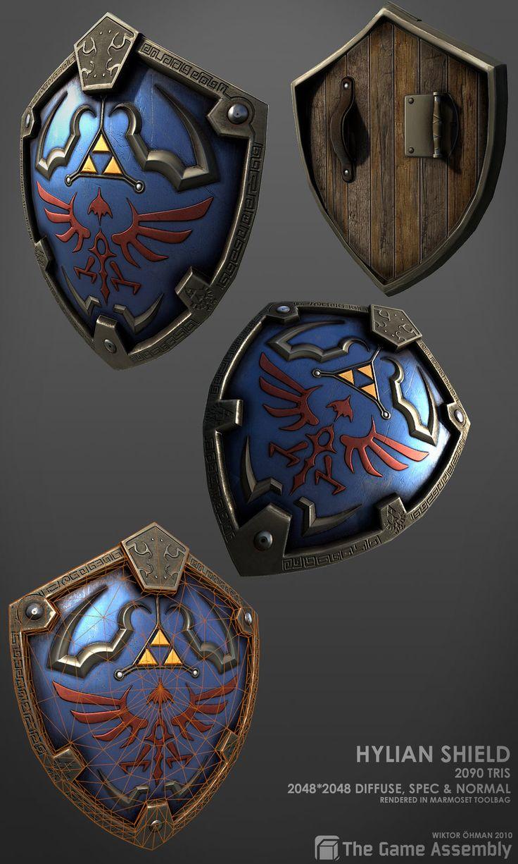 Hylian Shield by ~beere on deviantART