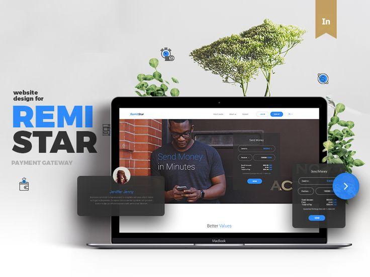다음 @Behance 프로젝트 확인: \u201cRemiStar Remittal Service - Website Design\u201d https://www.behance.net/gallery/48494767/RemiStar-Remittal-Service-Website-Design