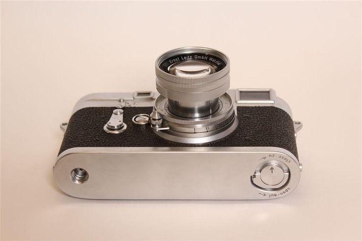 Leica M3 med Summicron f=5cm/1:2 optik inklusive originalväska på