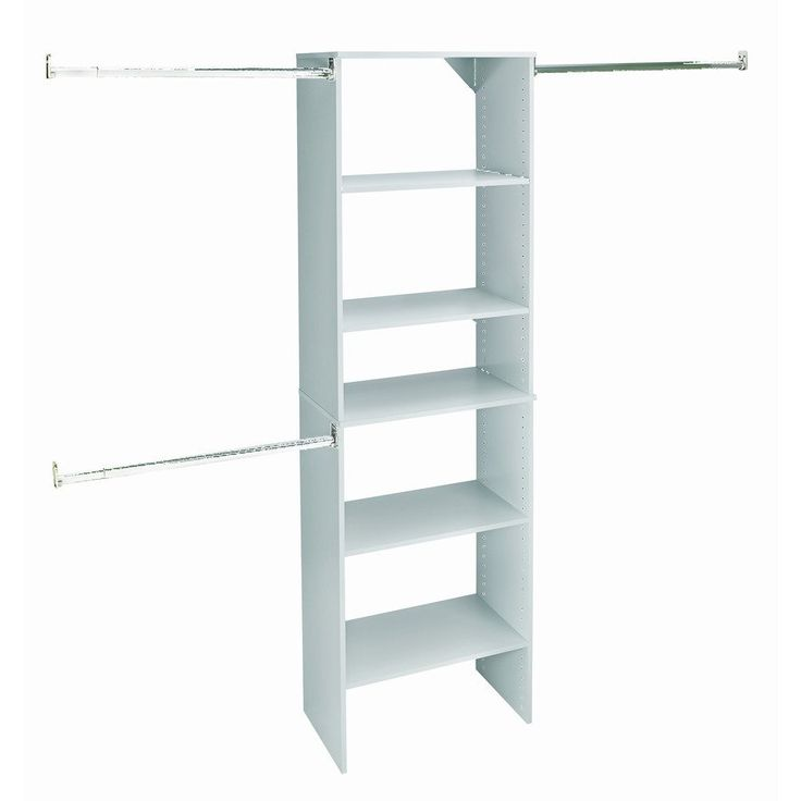 Shop ClosetMaid  SuiteSymphony 25-in Starter Tower Pure White at Lowe's Canada. Find our selection of closet organizers at the lowest price guaranteed with price match + 10% off.