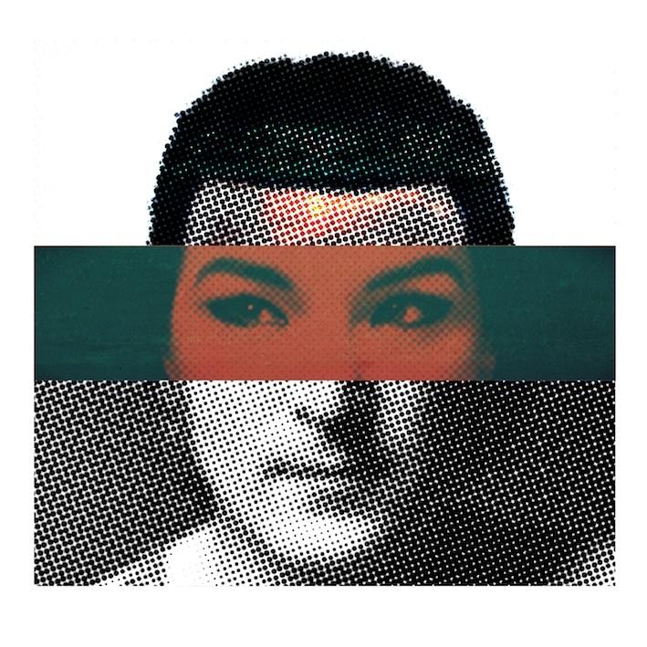 Bijjörhk  (Kanye West, Björk, John Lennon)  Serie Multiversos  Alberto Fumora  2012