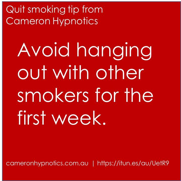 Stop smoking tip by Cameron Hypnotics