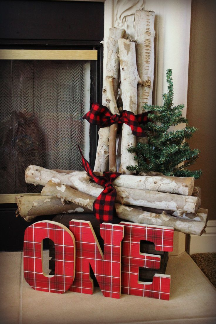 Lumberjack First Birthday Party Party Dcor Decorations