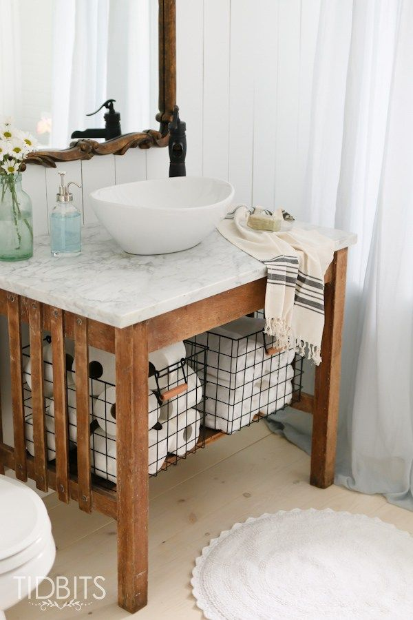 22000 best french country farmhouse images on for Summer bathroom decor