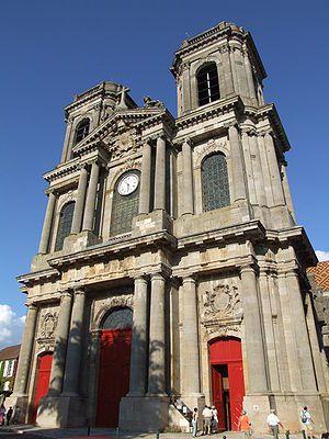 Langres, Frankrijk (Cathédrale Saint-Mammès de Langres)