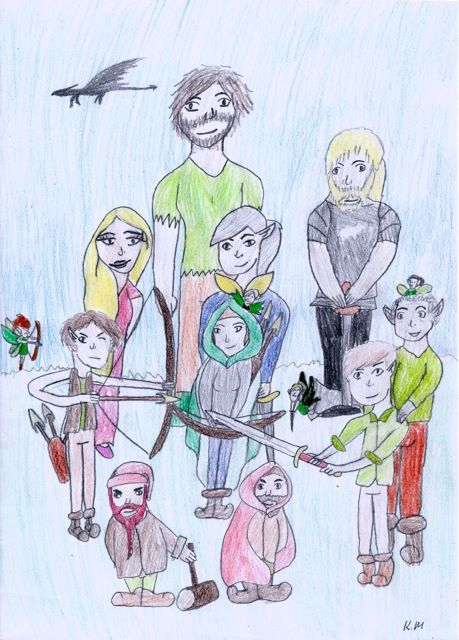 Entry 1.  The Hunters of Reloria by Kyla, age 11