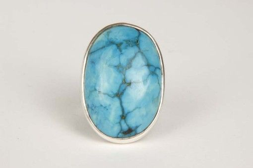 Ring R00093 Silver 925° Stone turquoise