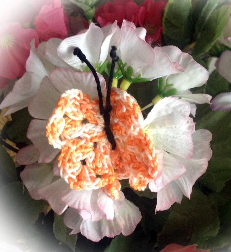 Farfalla uncinetto