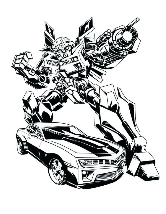Transformer Coloring Pages In 2020 With Images Transformers