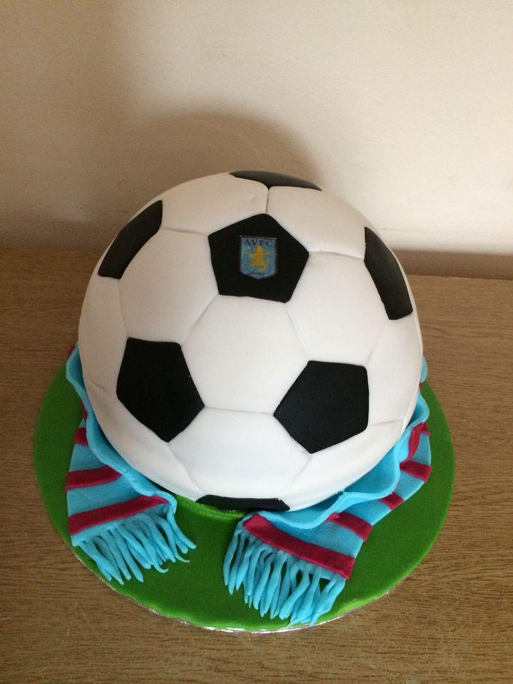 Aston villa football cake