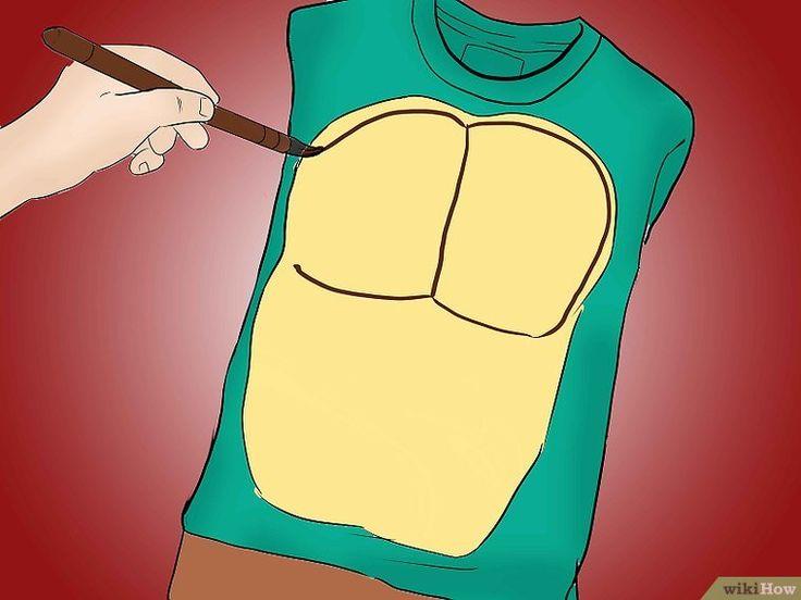 Ein Ninja Turtle Kostüm basteln – wikiHow