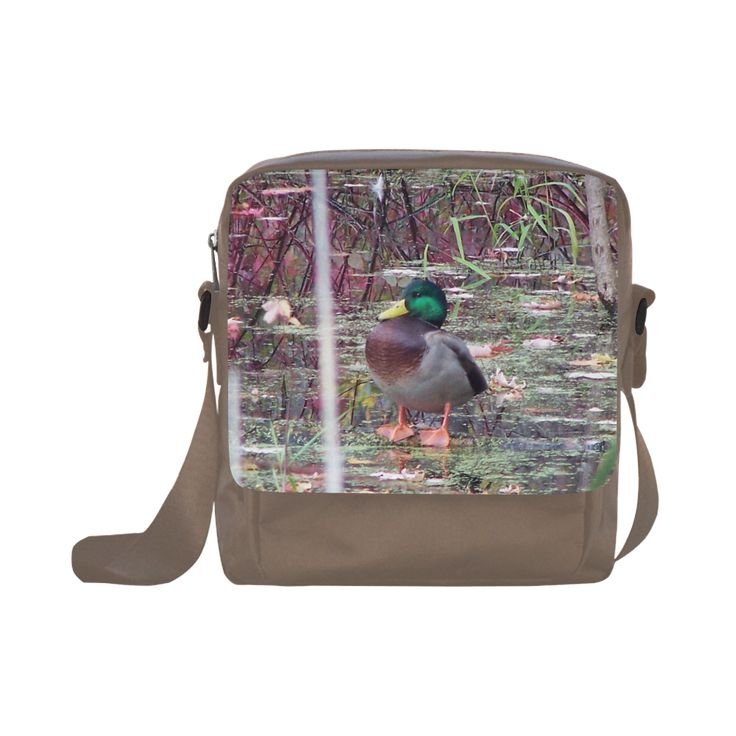 Mallard Drake Crossbody Nylon Bags (Model 1633)