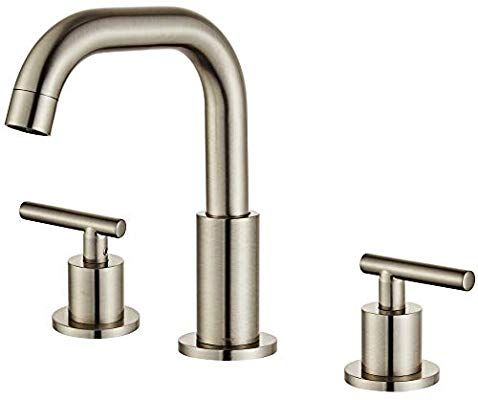 Myhb Sh001bn 2 Handle 8 Inch Widespread Bathroom Faucet For 3 Hole