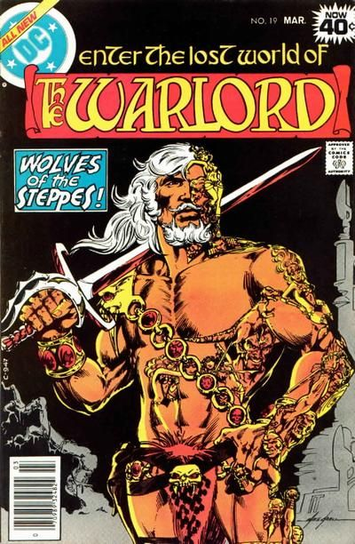 How much is Warlord #19 worth? Find the graded and raw value of this comic book in our online comics price guide.