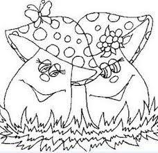 Risultati immagini per cogumelos de tecido pinterest