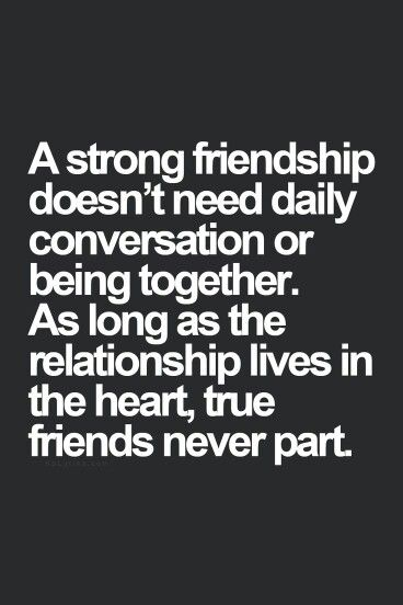 """""""As long as Friendship lives in the Heart... True Friends Never Part..."""" :) :)"""