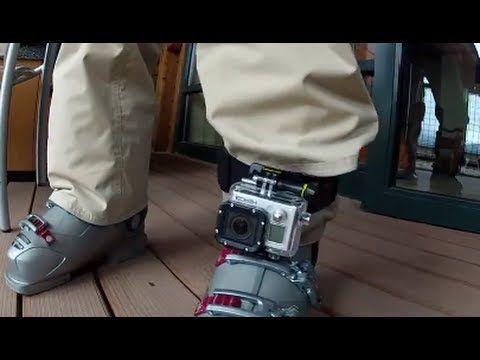 Tip #84 GoPro - Headstrap mount on leg