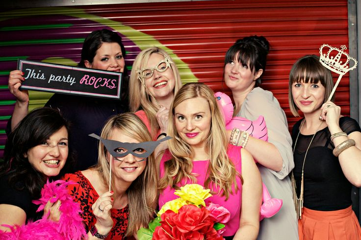 Photo booth- great prop ideas