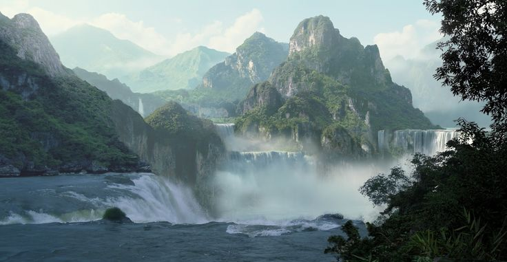 Learning Concept Art and Matte Painting: 3D Matte Painting Tutorial