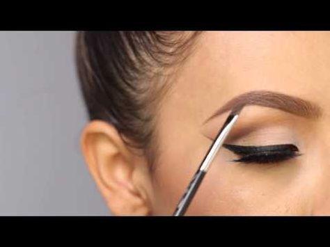 DESI PERKINS MAKEUP EYEBROW TUTORIAL / HOW TO #eyebrows #desimakeup #eyebrowtuto...