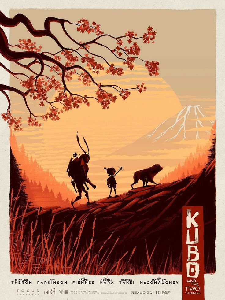 Kubo and the Two Strings Poster - Matt Ferguson                                                                                                                                                                                 More