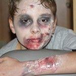 Narben / Verletzungen schminken für Karneval / Halloween