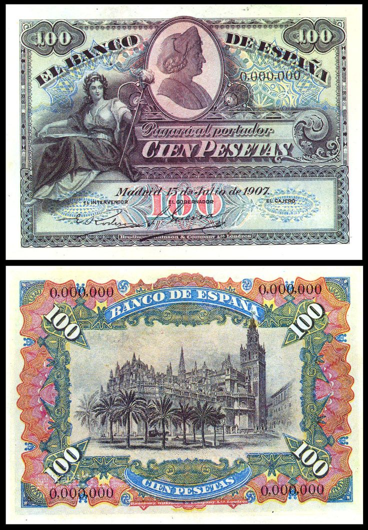 100 p, 1907