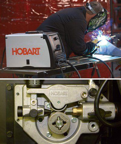 Hobart Handler 190 Flux-Cored/MIG Welder with SpoolRunner ...