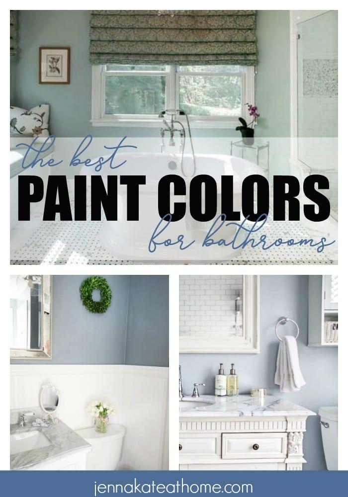 The Best Bathroom Paint Colors Best Bathroom Paint Colors Bathroom Colors Small Bathroom Colors
