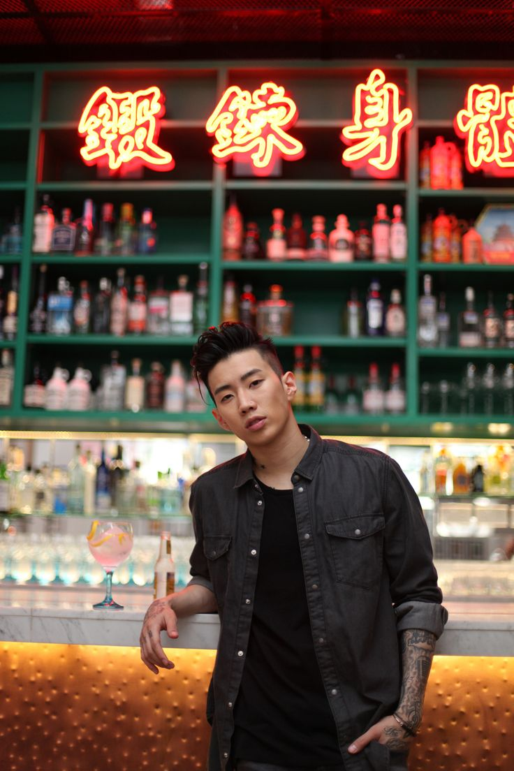 Jay Park is so sexy! I would love to be on his naughty list!