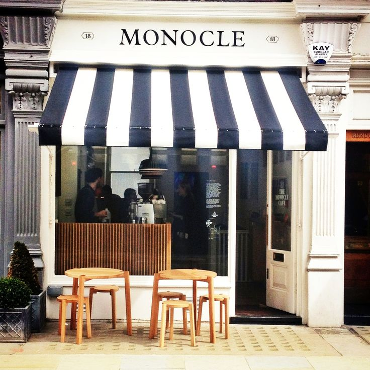 Monocle Café in Marylebone: just like the trendsetting lifestyle magazine, this bijou café is super hip. Expect stylish urbanites drinking strong coffees and nibbling on cinnamon buns by Fabrique bakery.
