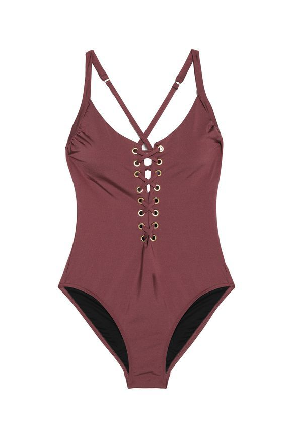 d14f39ef18c66 Lace-up swimsuit | HEIDI KLUM SWIM | Sale up to 70% off | THE OUTNET ...