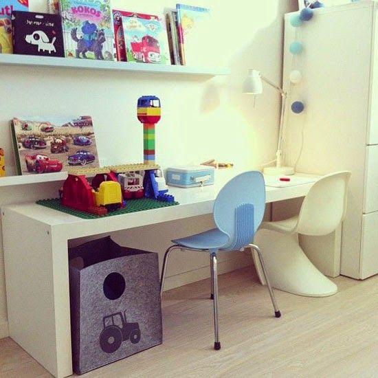 mommo design: IKEA HACKS FOR KIDS - Expedit desk