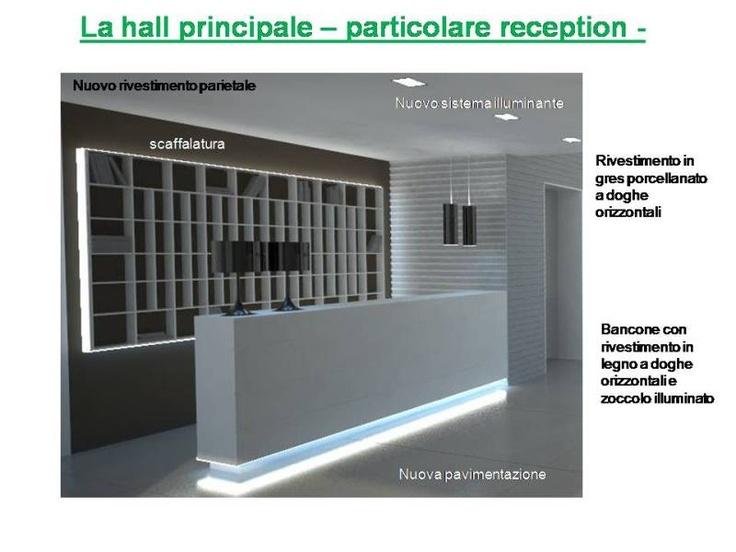05 la reception progetto