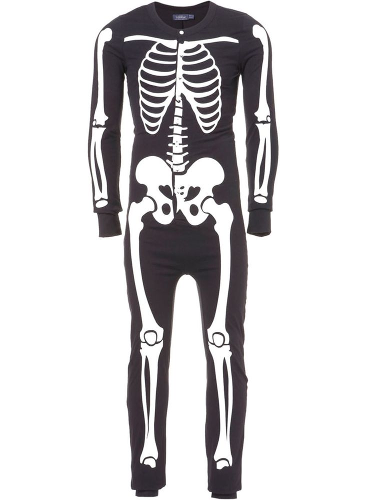 Glow In The Dark Skeleton-Adult Onsie