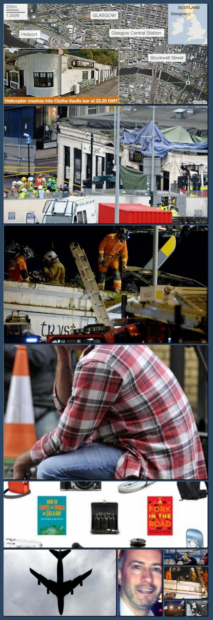 BBC News - Glasgow helicopter crash: Police name dead man [Collage made with one click using http://pagecollage.com] #pagecollage