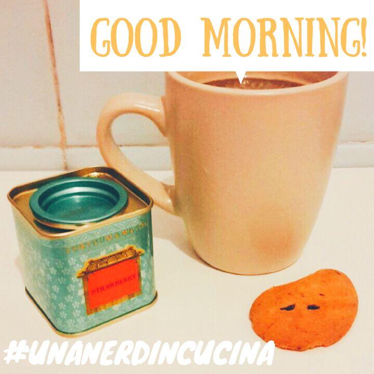 Good morning! ☕️#unanerdincucina #saturday #fortnumandmason #goodmorning