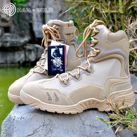 Deltta Tactical Boots Military Desert SWAT American Combat Boots Outdoor Shoes Breathable Wearable Boots Hiking Shoes #Affiliate