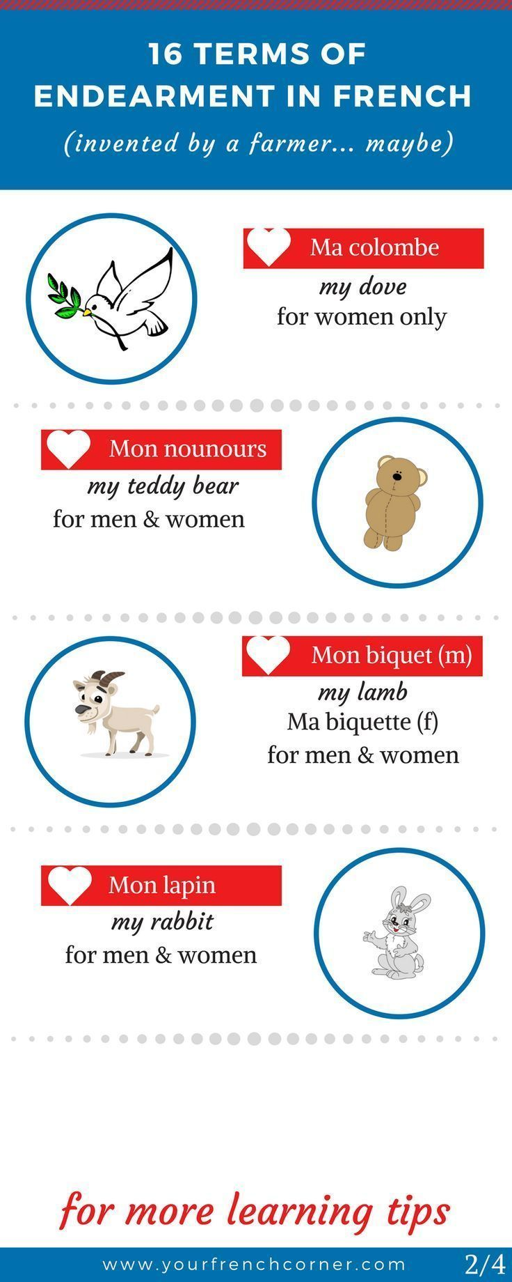 16 Unusual Endearment Terms In French (invented by a farmer… maybe