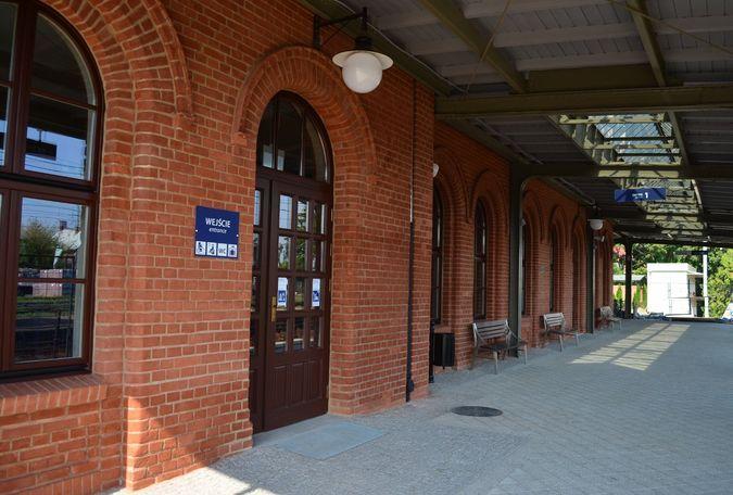 Dworzec w Pszczynie