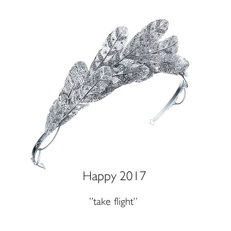 May your New Year be filled with happiness.TASAKI